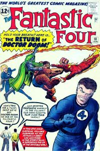 Stan Lee & Steve Ditko Featured on this Fantastic Four Comic
