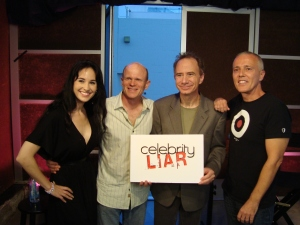 Celebrity Liar: June 8 2010 with host Andrew Hill Newman Guests: Paul McCrane (ER & Fame!) vs Curt Smith (Tears for Fears)