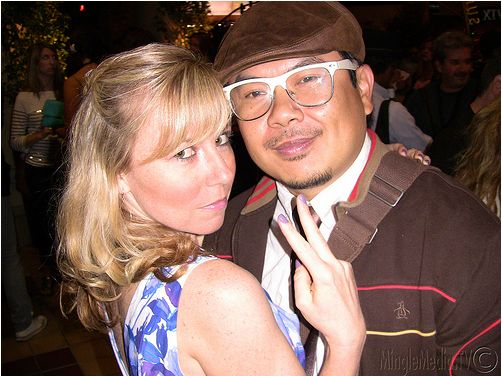 Kristyn Burtt and Bernie Su