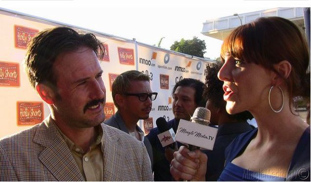 HollyShorts - Red Carpet with David Arquette