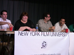 New Media Panel - Patrick Bardwell, Slebisodes, Stephanie Piche, Mingle Media TV, Danny Ramm, Quick Bites, Joe Mantegna, Actor