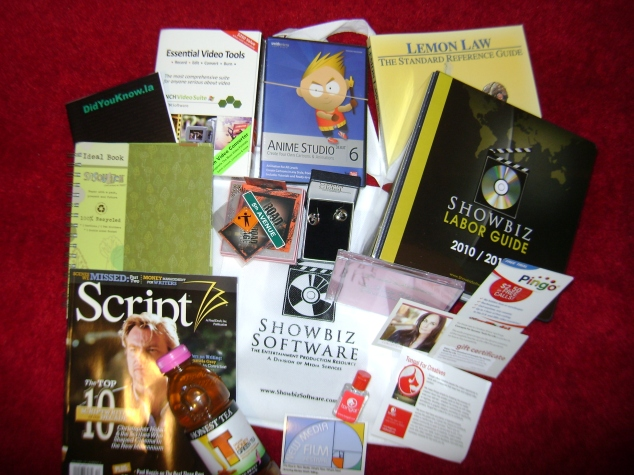 New Media Film Festival Gift Basket Giveaway