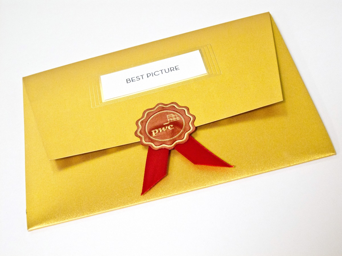 83rd Academy Awards, Oscar Envelope