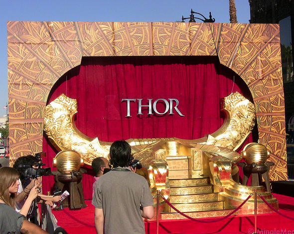On the THOR Red Carpet - El Capitan Theater Hollywood