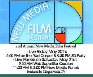 LIVE Streaming Schedule for the New Media Film Festival