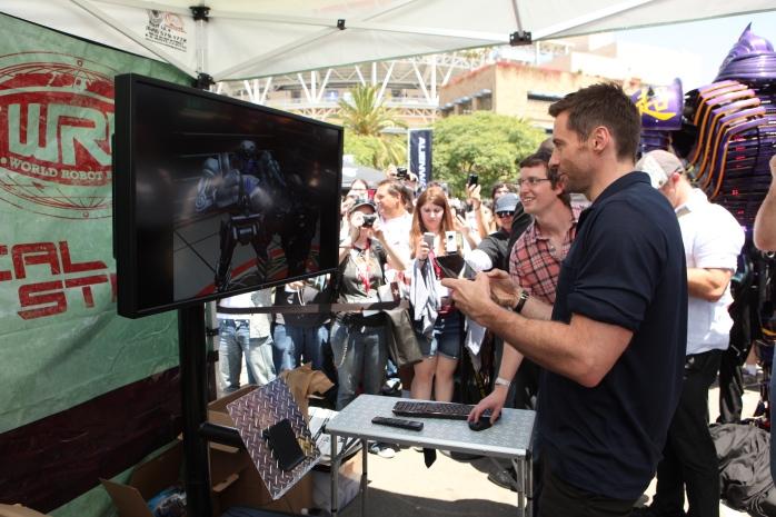 Hugh Jackman, Real Steel, Comic-Con 2011
