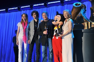 GUY WILLIAMS FAMILY with Mickey Mouse