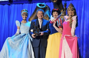 REGIS PHILBIN Surrounded by Disney Princesses