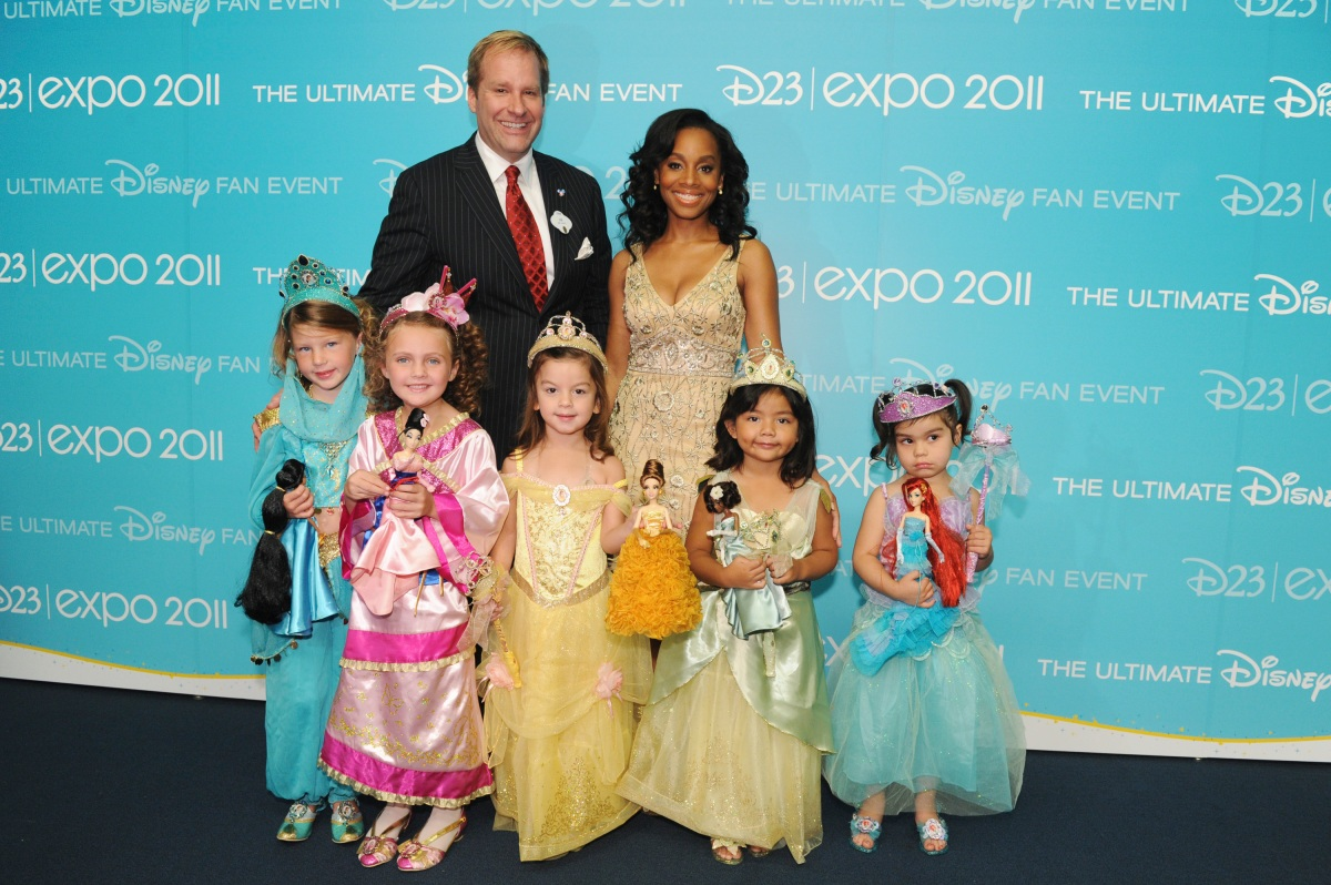 JIM FIELDING, ANIKA NONI ROSE & Disney Princesses