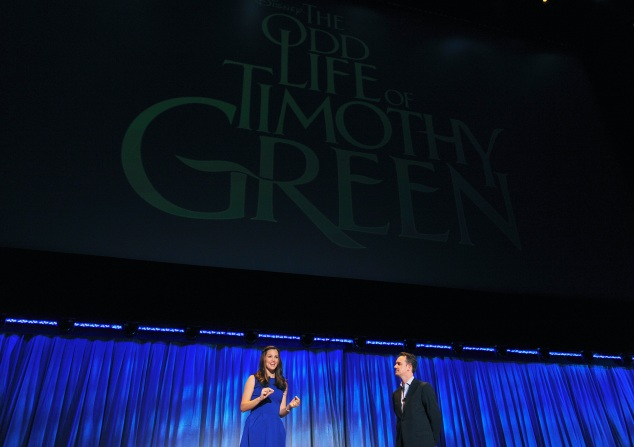 JENNIFER GARNER, SEAN BAILEY (PRESIDENT, PRODUCTION THE WALT DISNEY STUDIOS)
