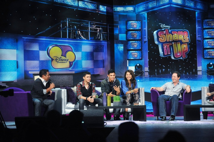 ERNIE D, ADAM IRIGOYEN, ROSHON FEGAN, ZENDAYA, ROB LOTTERSTEIN (EXECUTIVE PRODUCER), BELLA THORNE, DAVIS CLEVELAND, KENTON DUTY, CAROLINE SUNSHINE