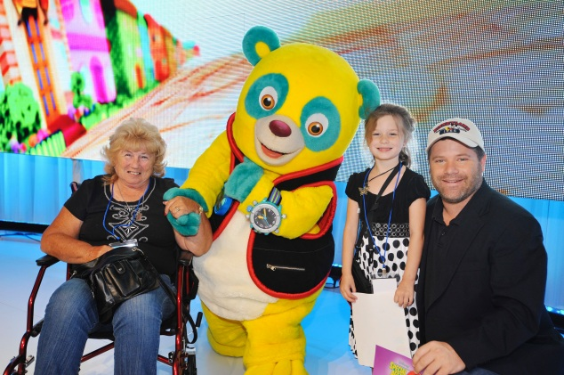"""Sean Astin from Disney Junior's """"Special Agent Oso"""""""