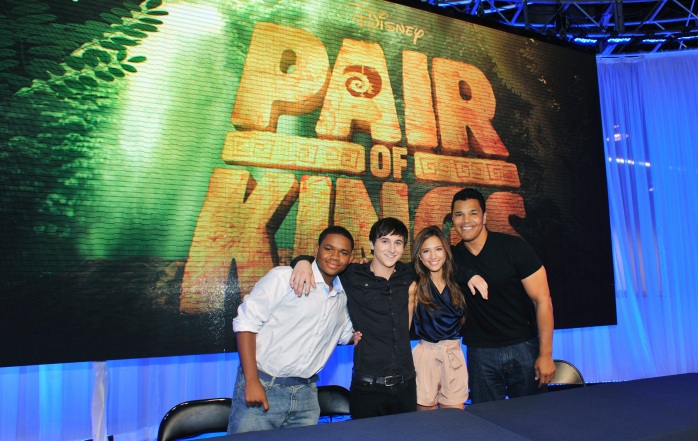 "The cast of Disney XD's hit series ""Pair of Kings,""  DOC SHAW, MITCHEL MUSSO, KELSEY CHOW, GENO SEGERS"