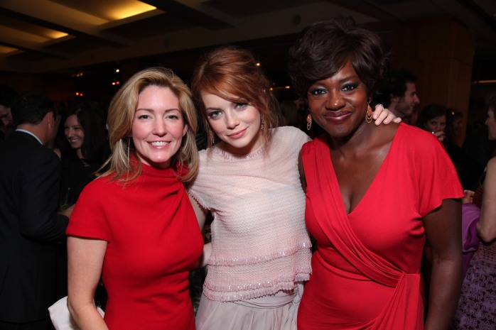 Kathryn Stockett, Emma Stone, Viola Davis