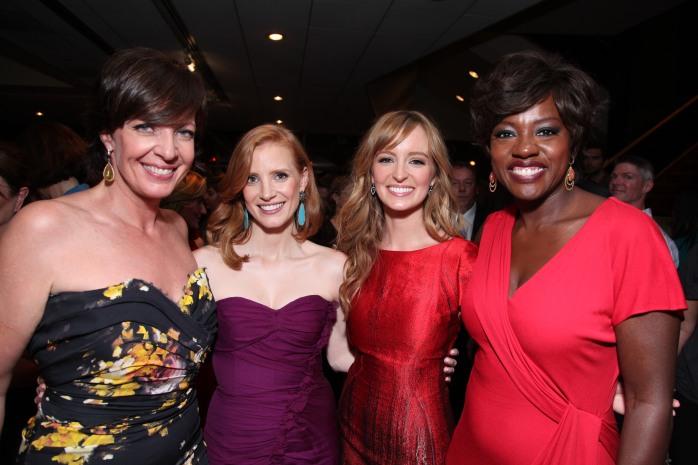 Allison Janney,  Jessica Chastain, Anha O'Reilly, Viola Davis