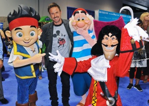 JAKE, DAVID ARQUETTE, MR. SMEE, CAPTAIN HOOK