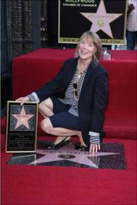 Sissy Spacek Getting Her Star on the Hollywood Walk of Fame