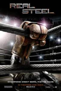 """Real Steel"" Movie coming to theaters October 7th 2011"