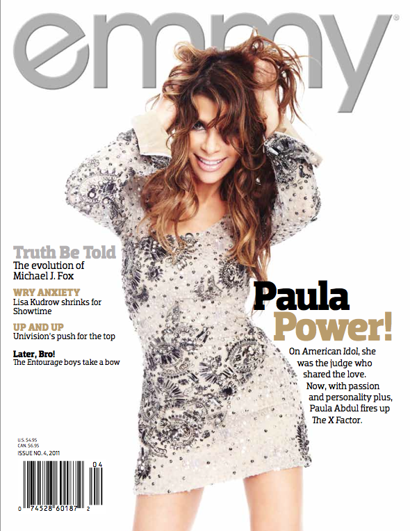 Paula Abdul --- Photo Credit: PHOTOGRAPH BY ANTOINE VERGLAS COURTESY OF emmy® MAGAZINE