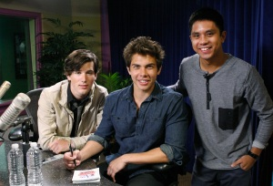 "AllStar Weekend, Season Two winners of Radio Disney's ""N.B.T."", visit Radio Disney for a Take Over with Ernie D"