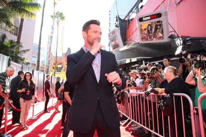 Hugh Jackman REAL STEEL Los Angeles Premiere