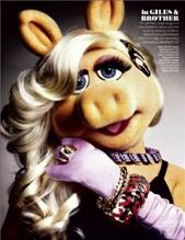 Miss Piggy - InStyle Fashion Shoot