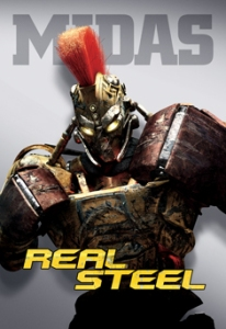 Midas - One of the Robots from Real Steel Movie