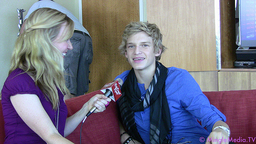 Cody Simpson at Radio Disney