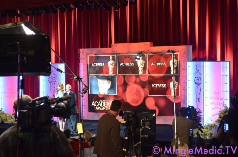Mingle Media TV's Coverage of the 2012 Oscar Nominations