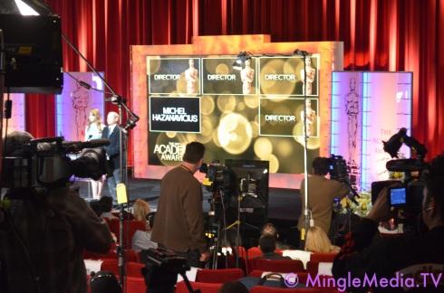 Mingle Media TV's Coverage of the 2012 Oscar Nominations