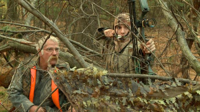 Frank and Adam hunting