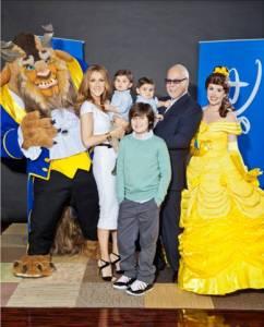 "Céline Dion/""Beauty and the Beast"" 3D Disney's beloved Belle, and the Beast from ""Beauty and the Beast,"