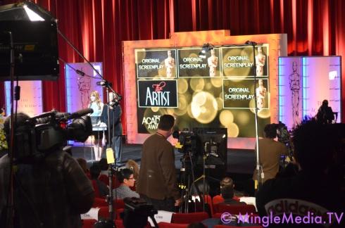 Mingle Media Coverage of 2012 Oscars Nominations