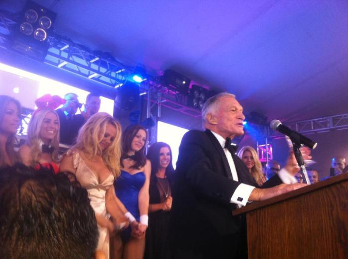 Hugh Hefner, Humanitarian Award Recipient