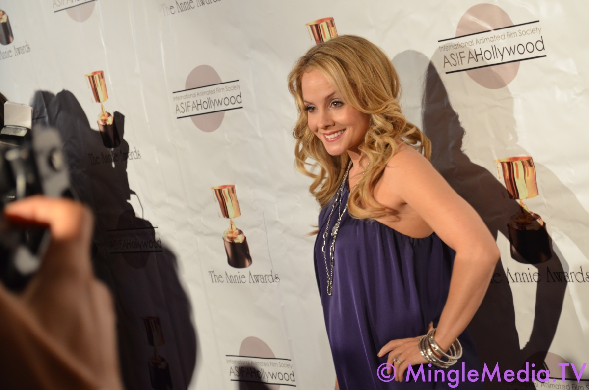 Kelly Stables at the 39th Annie Awards