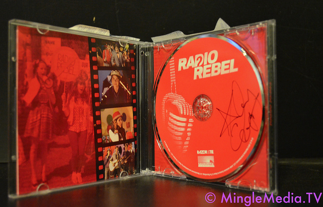 Win a Signed Copy of Radio Rebel CD - in stores 2/14 from Debby Ryan