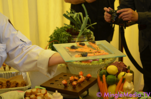 Examples of the Menu from Wolfgang Puck Catering