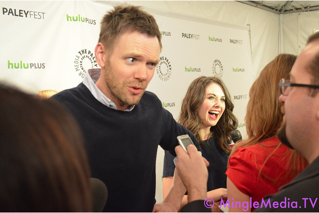 Joel McHale, Community at Saban Theatre for PaleyFest