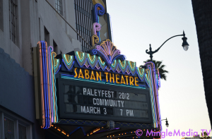 Community at Saban Theatre for PaleyFest
