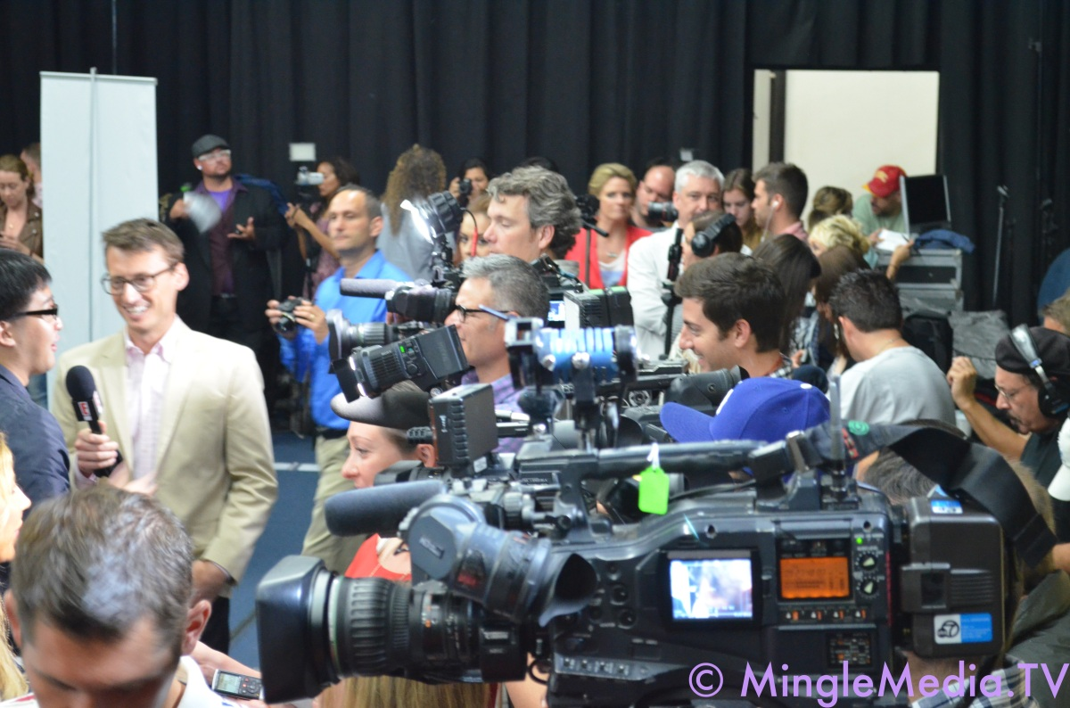 Massive Press at the American Idol LIVE! Tour 2012 Event