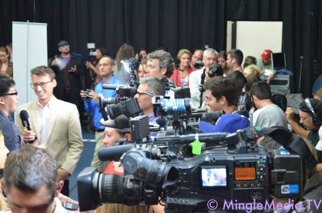 Massive Press at the American Idol LIVE! Tour 2012 Event