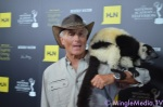 Jack Hanna and Friend on the Red Carpet