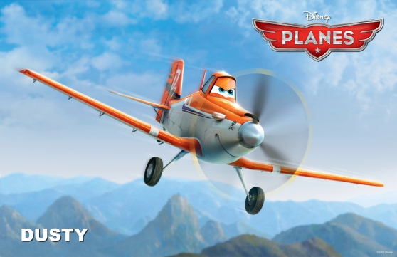 "Meet ""Dusty"" of Disney's Planes"