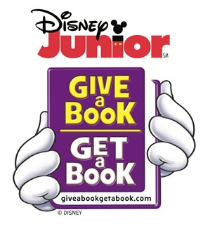 Disney Jr Give A Book Get A Book